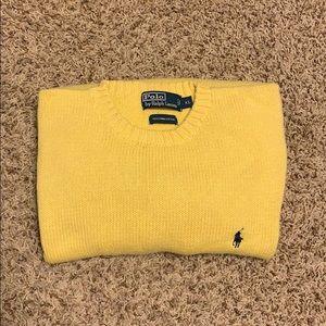 Men's Polo Knit Sweater